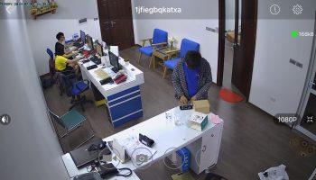 Dự án thay đổi camera truyền thống sang camera IP Vimtag Cp2x – giám sát nhân viên văn phòng